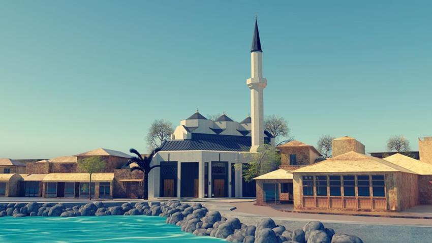 Kurul cami projesini onayladı